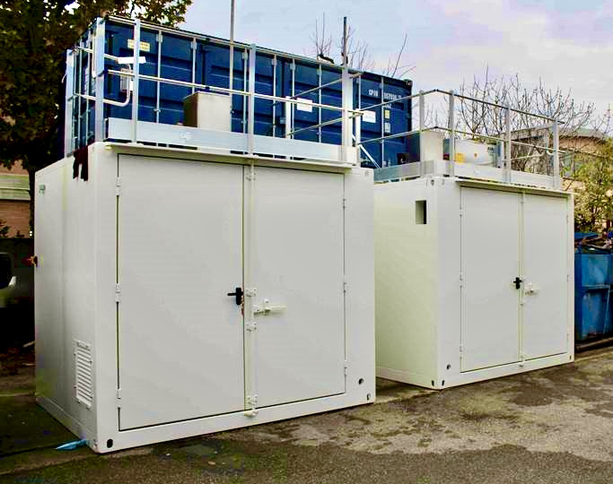 Containers for Hydrogen Compressors
