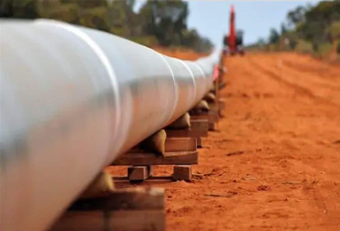 Hydrogen Gas pipeline