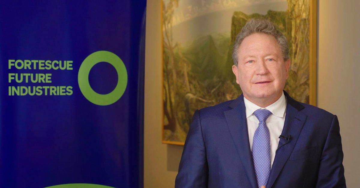 Twiggy Forrest's green hydrogen ambitions